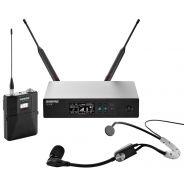 Shure QLXD14E/SM35 G51 - Radiomicrofono Sistema Microfonico Wireless Senza Fili UHF con Archetto Headset SM35