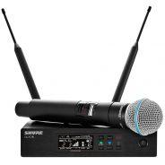 Shure QLXD24E/Beta 58A G51 - Radiomicrofono UHF con Trasmettitore Palmare