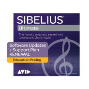 Avid Sibelius Ultimate 1 Year Software Updates + Reinstatement Plan Edu (Card)