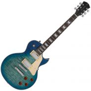 Chitarra Elettrica Tipo Gibson Les Paul Sire Guitars Larry Carlton L7 Transparent Blue