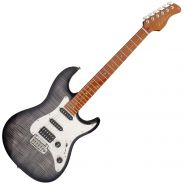 Chitarra Elettrica Tipo Fender Stratocaster Sire Guitars Larry Carlton S7 FM Transparent Black