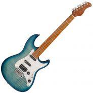 Chitarra Elettrica Tipo Fender Stratocaster Sire Guitars Larry Carlton S7 FM Transparent Blue