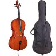 SOUNDSATION PCE-12 - Violoncello 1/2 Virtuoso Primo Completo Di Borsa E Archetto