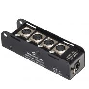SOUNDSATION SPBX-4X3F - Split Box DMX RJ45 Con 4 Canali Multi-core System XLR Femmina