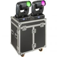 SOUNDSATION SPIRE XL 440 SET - Set 2x Teste Mobili Beam-Spot-Wash 20R Con Flight Case