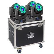 SOUNDSATION THESIS 740RZ SET - Set 4 Teste Mobili THESIS 740RZ Con Flight Case