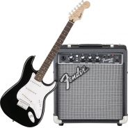 Squier Bullet Stratocaster HT Black bundle