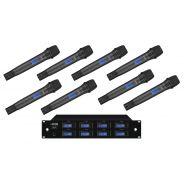 IMG Sistema Microfonico Wireless Professionale UHF 1000 Canali / 8 Palmari