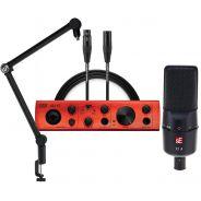 Studio Bundle per Home Recording con Interfaccia U22XT e Microfono sE X1A