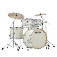 Tama CK52KRS Vintage White Sparkle - Kit batteria Acustica 5 Pezzi