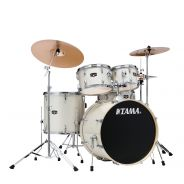 Tama IE52KH6W Vintage White Sparkle - Kita Batteria Acustica Completo