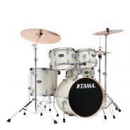 Tama IE58H6W Vintage White Sparkle - Kit Batteria Acustica Completo