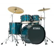 Tama RM50YH6C Hairline Blue - Batteria Acustica Completa
