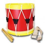 tamburo da parata Rosso