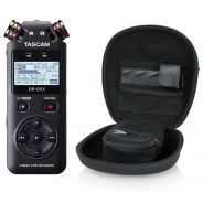 Tascam DR 05X Pack - Registratore Digitale Palmare con Custodia