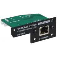 Tascam IF E100 - Ethernet Control Card per CD-400U