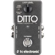 Tc electronic ditto stereo looper top