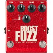 Tech 21 Boost Fuzz Metallic - Pedale Effetto per Chitarra Elettrica