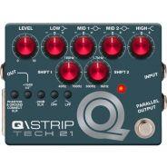 Tech 21 Q\Strip - Equalizzatore / Preamp a Pedale per Chitarra, Basso, Tastiera