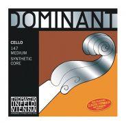 THOMASTIK - Set di Corde per Violoncello Serie Dominant Medium 4/4