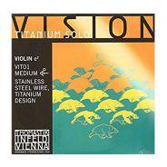 THOMASTIK - Corda Singola Per Violino Serie Vision™ Titanium Solo, (I o Mi)