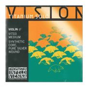 THOMASTIK - Corda Singola Per Violino Serie Vision™ Titanium Solo, (III o Re)