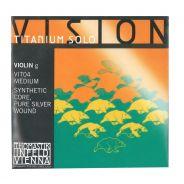 THOMASTIK - Corda Singola Per Violino Serie Vision™ Titanium Solo, (IV o Sol)