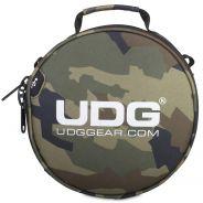 Udg U9950BC/OR - ULTIMATE DIGI HEADPHONE BAG BLACK CAMO, ORANGE INSIDE