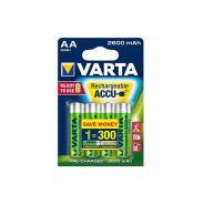 1 Varta Batterie Ricaricabili Accu 5716 AA Mignon 2600 mAh