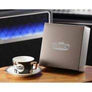 Vox Teacup and Saucer - Tazzina con Piatto