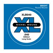 D'ADDARIO XLB040 - Singola per Basso Elettrico (040)