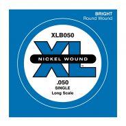 D'ADDARIO XLB050 - Singola per Basso Elettrico (050)