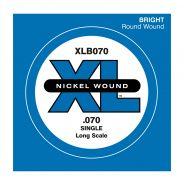 D'ADDARIO XLB070 - Singola per Basso Elettrico (070)