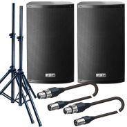 FBT Set XLite 12A + Stativi + Cavi XRL/XRL 5mt Bundle