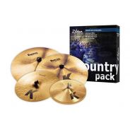 ZILDJIAN 5 K COUNTRY - 1 Ride / 1 Hi-Hat / 2 Crash