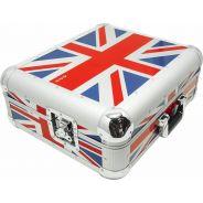 0 ZOMO 0030101383 - Flightcase SL-12 XT | Technics SL-1200 / SL-1210 - UK-Flag