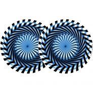 0 ZOMO 0020102302 - 2x Slipmats - Saw - Blu