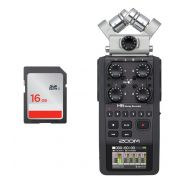 Zoom H6 - Registratore Digitale con Scheda SDHC 16 GB