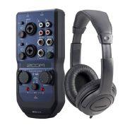 ZOOM Interfaccia Audio USB U44 / Cuffie