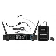ZZIPP TXZZ541 Set Radiomicrofono ad Archetto UHF 48 Canali