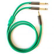 ZZIPP YPZZP300 - Cavo Audio MiniJack Stereo / 2 Jack Mono 3mt