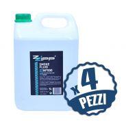 ZZIPP Set 4 Taniche da 5lt di Liquido per Macchina Fumo