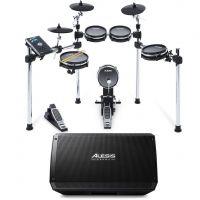 Alesis Command Mesh Kit Bundle Batteria Elettronica/Strike Amp 12 Amplificatore