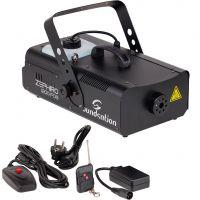 Soundsation Zephiro 1200 Fog - Macchina Fumo con Comando a Filo e Radiocomando