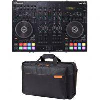 Roland DJ 707M Controller Dj All-in-One con Custodia Imbottita