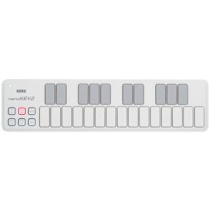 KORG nanoKEY 2 White - CONTROLLER MIDI 25 tasti