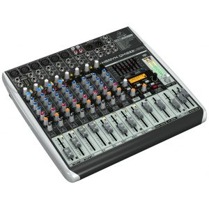 BEHRINGER QX1222USB -MIXER 12 IN CON INTERFACCIA USB E FX
