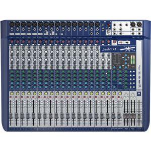 SOUNDCRAFT Signature 22 - MIXER 22 CANALI USB CON EFFETTI