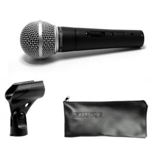 SHURE SM58S - MICROFONO PER VOCE CON INTERRUTTORE ON/OFF