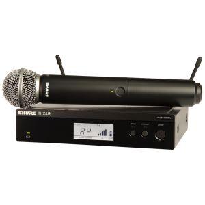 SHURE BLX24RE/SM58 Radiomicrofono BLX24RE con capsula SM58